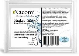 Духи, Парфюмерия, косметика Альгинатная маска для лица с гиалуроновой кислотой - Nacomi Shaker Mask