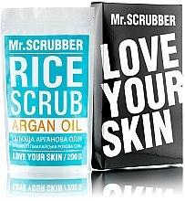Парфумерія, косметика Рисовий скраб для тіла з аргановою олією - Mr.Смуги Навігації Rice Scrub Argan Oil