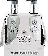 Духи, Парфюмерия, косметика Набор - Grace Cole White Nectarine & Pear (h/wash/300ml + h/lot/300ml)