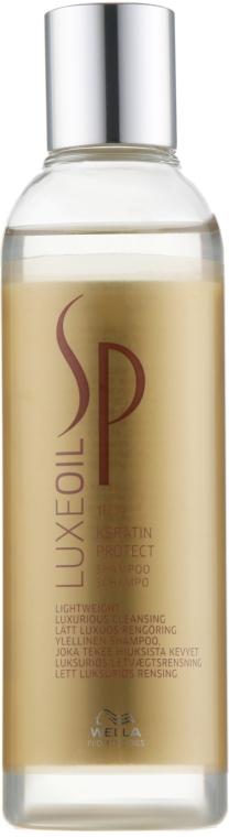 Кератиновый шампунь - Wella SP Luxe Oil Keratin Protect Shampoo