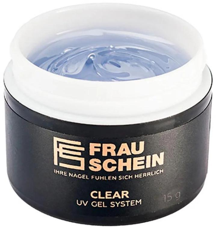 Гель для наращивания, 15 г - Frau Schein Clear UV Gel System
