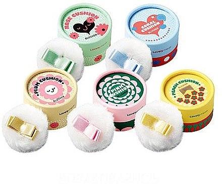 Духи, Парфюмерия, косметика Румяна-кушон - The Face Shop Lovely Meex Pastel Cushion Blusher
