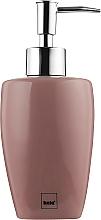 Духи, Парфюмерия, косметика Дозатор для мыла керамический, розовый 400 мл - Kela Lindano