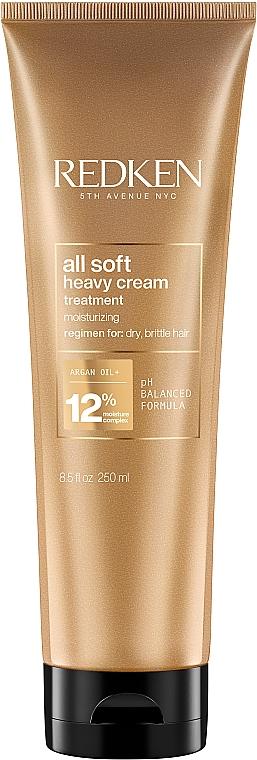 Маска-крем для сухих и ломких волос - Redken All Soft Heavy Cream Super Treatment Mask
