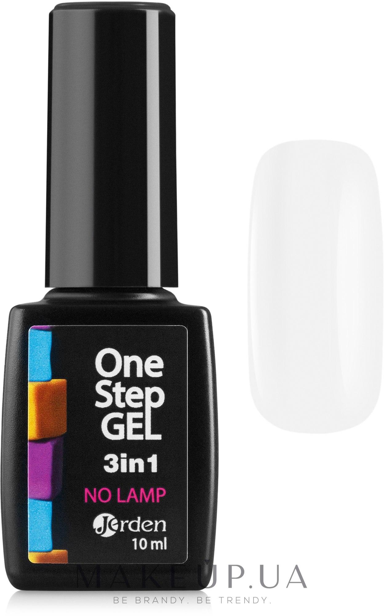 Лак для ногтей с гелевым эффектом - Jerden One Step Gel 3 In 1 — фото 01