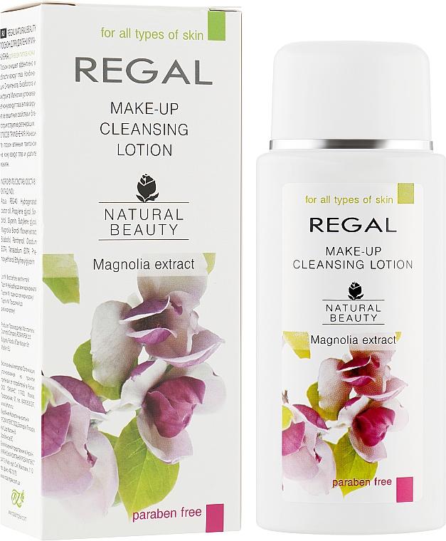 Лосьон для удаления макияжа с глаз для всех типов кожи - Regal Natural Beauty Make-Ap Cleansing Lotion