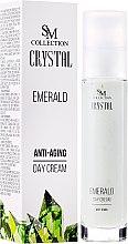 """Духи, Парфюмерия, косметика Дневной крем для лица """"Изумруд"""" - Hristina Cosmetics SM Crystal Emerald Anti-Aging Day Cream"""