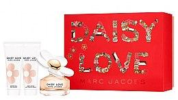 Духи, Парфюмерия, косметика Marc Jacobs Daisy Love - Набор (edt/50ml + sh/gel/75ml + b/milk/75ml)