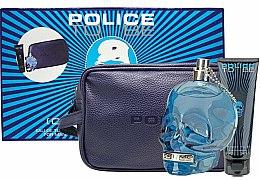 Духи, Парфюмерия, косметика Police To Be Men - Набор (edt/125ml + sh/gel/100ml + bag)