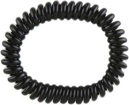 Духи, Парфюмерия, косметика Резинка-браслет для волос - Invisibobble Slim True Black