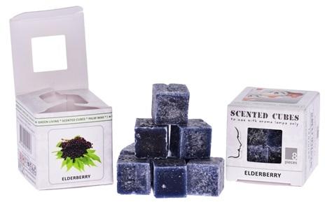 """Аромакубики """"Бузина"""" - Scented Cubes Elderberry Candle"""