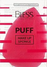 Духи, Парфюмерия, косметика Спонж-капля, розовый - Bless Beauty PUFF Make Up Sponge