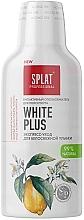 """Духи, Парфюмерия, косметика Антибактериальный ополаскиватель для полости рта для белоснежной улыбки """"Отбеливание плюс"""" - SPLAT White Plus"""