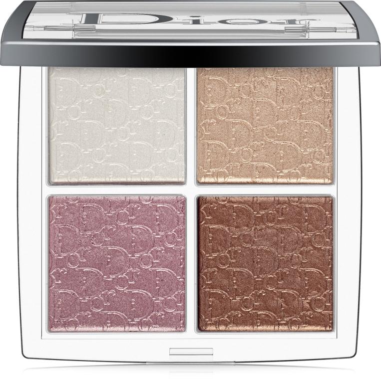 Палетка хайлайтеров - Dior Backstage Glow Face Palette Highlight&Blush (тестер)