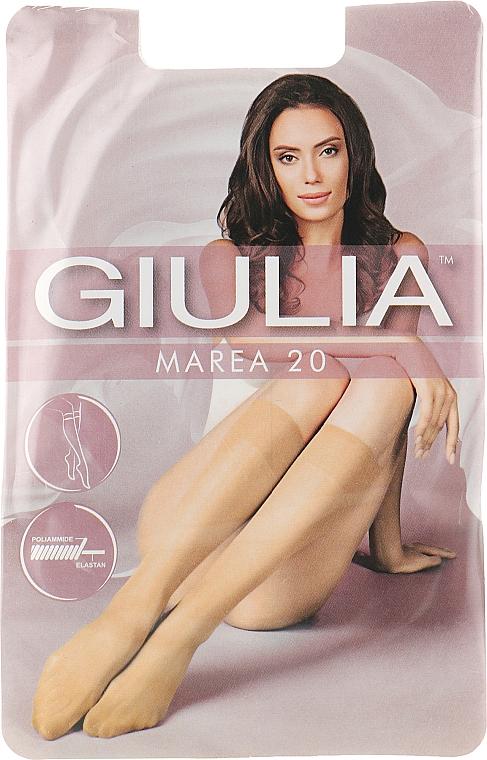 """Гольфы для женщин """"Marea Gambaletto"""" 20 Den, caramel - Giulia"""