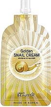 Духи, Парфюмерия, косметика Регенирирующий крем для лица с муцином улитки - Beausta Golden Snail Cream