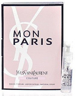 Духи, Парфюмерия, косметика Yves Saint Laurent Mon Paris Couture - Парфюмированная вода (пробник)