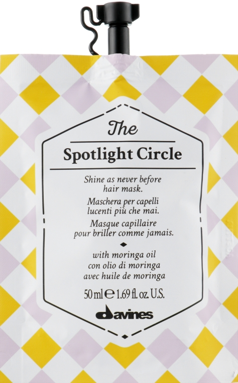 Маска для максимального блеска волос - Davines The Circle Chronicles The Spotlight Circle — фото N1
