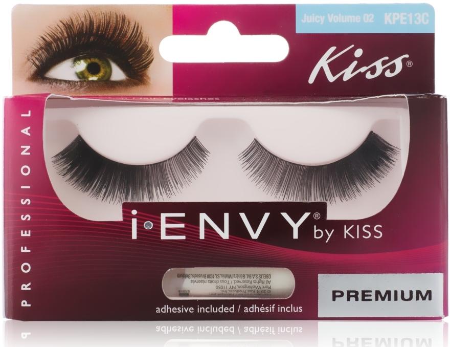 """Накладные ресницы """"Элегантность"""" - Kiss IEnvy Eyelashes Juicy Volume 02"""