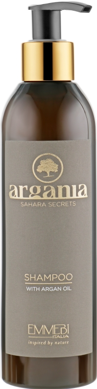 Восстанавливающий шампунь с аргановым маслом - Emmebi Italia Argania Sahara Secrets