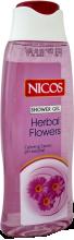 """Духи, Парфюмерия, косметика Гель для душа """"Полевые цветы"""" - Nicos Shower Gel Herbal Flowers"""
