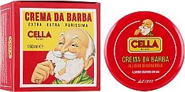Духи, Парфюмерия, косметика Мыло для бритья с маслом миндаля - Cella Milano Crema Da Barba