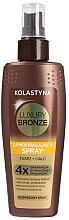 Духи, Парфюмерия, косметика Спрей-автозагар для лица и тела - Kolastyna Luxury Bronze Tanning Spray