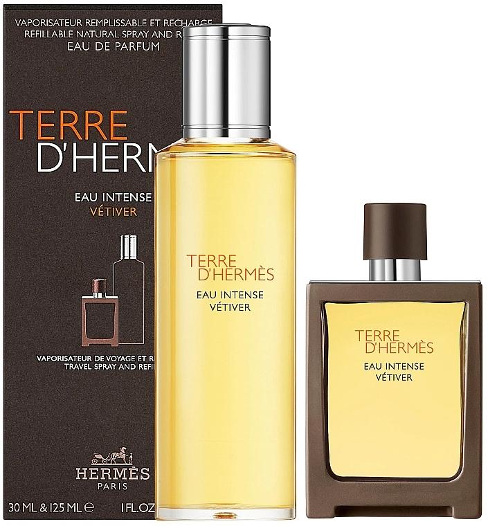 Hermes Terre D'Hermes Eau Intense Vetiver - Набор (edp/30 ml + edp/125 ml)