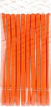 Духи, Парфюмерия, косметика Гибкие бигуди, 1,2х20 см, оранжевые - Baihe Hair
