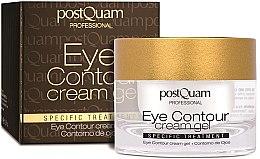 Духи, Парфюмерия, косметика Контурный крем-гель для кожи вокруг глаз - PostQuam Eye Contour Cream Gel