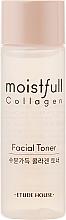 Духи, Парфюмерия, косметика Тонер для лица с коллагеном - Etude House Moistfull Collagen Toner (мини)
