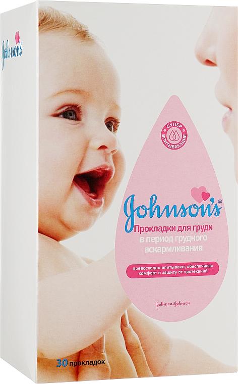Прокладки для груди в период грудного вскармливания, 30 шт. - Johnson's® Baby