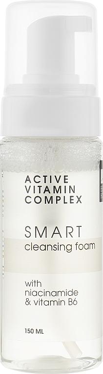 """Противовоспалительная пенка для умывания с эффектом матирования """"Активный витаминный комплекс"""" - Luff Active Vitamin Complex Smart Cleansing Foam"""