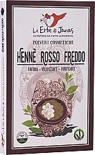 "Духи, Парфюмерия, косметика Порошок для волос ""Rosso Freddo"" - Le Erbe di Janas Red Henna Cold Shades"