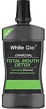 Духи, Парфюмерия, косметика Ополаскиватель для полости рта - White Glo Charcoal Total Mouth Detox Mouthwash