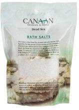 Духи, Парфюмерия, косметика Соль для ванны - Canaan Minerals & Herbs Bath Salts