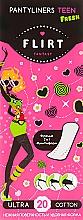 """Духи, Парфюмерия, косметика Ежедневные гигиенические прокладки """"Teen Fresh Ultra Cotton"""", 20шт, без индивидуальной упаковки - Fantasy Flirt"""