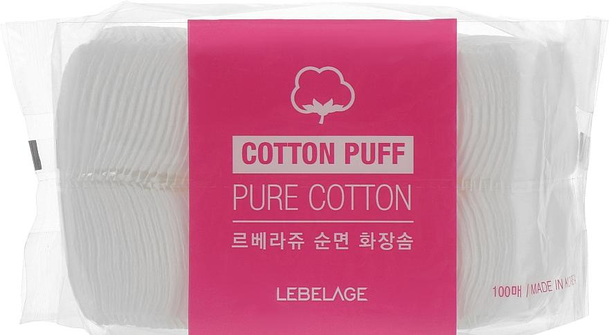Паффы - Lebelage Cotton Puff Pure Cotton