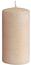 Духи, Парфюмерия, косметика Декоративная свеча, розово-золотая, 7x10 см - Artman Glamour