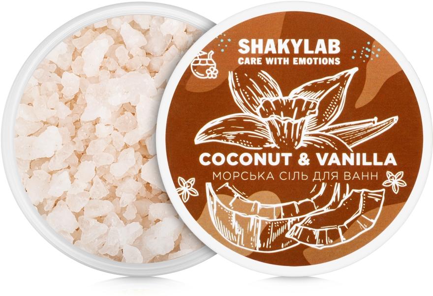 "Соль морская для ванн ""Coconut & Vanilla"" - SHAKYLAB Natural Bath Salt — фото N2"