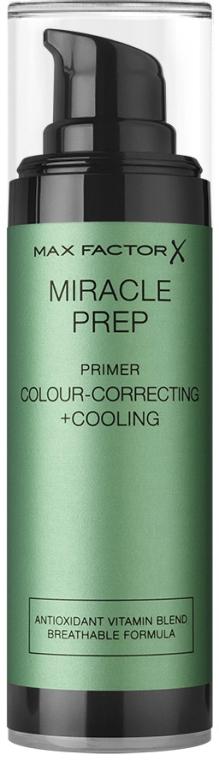 Праймер корректирующий и охлаждающий - Max Factor Miracle Prep Colour Correcting Cooling