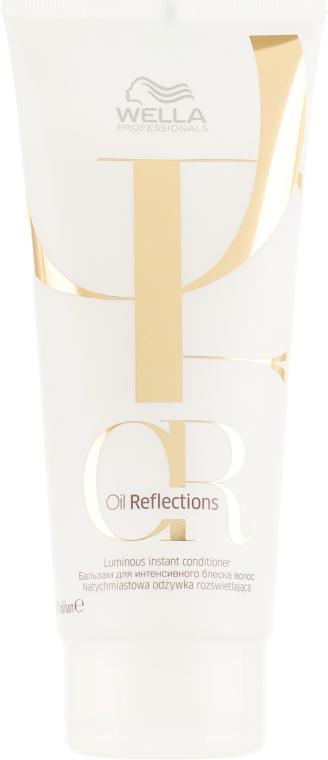 Бальзам для интенсивного блеска - Wella Professionals Oil Reflections Luminous Instant Conditioner