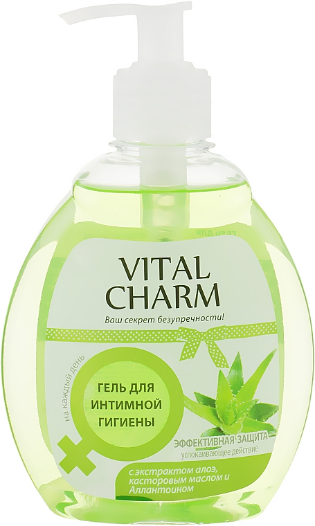 """Гель для интимной гигиены """"Эффективная защита"""" - Vital Charm"""