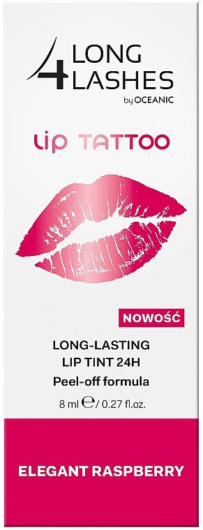 Стойкий тинт для губ - Long4Nails Lip Tattoo Long Lasting Lip Tint 24h