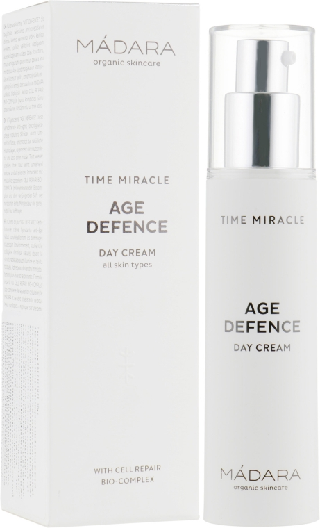 Дневной крем для лица - Madara Cosmetics Time Miracle Age Defence Day Cream