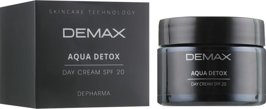 Детокс аква дневной крем - Demax Aqua Detox Cream Spf20
