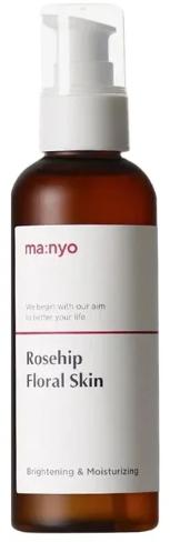 Осветляющий тонер с экстрактом шиповника - Manyo Factory Rosehip Floral Skin