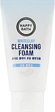 "Духи, Парфюмерия, косметика УЦЕНКА Пенка для умывания ""Белая глина"" - Happy Bath Whiteclay Cleansing Foam *"