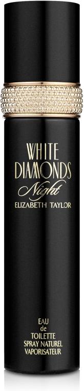Elizabeth Taylor White Diamonds Night - Туалетная вода — фото N2
