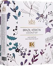 Духи, Парфюмерия, косметика Набор - Brazil Keratin Coconut Set (sch/300ml + cond/300ml + oil/100ml)